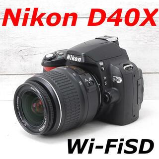 ニコン(Nikon)の❤️カメラケース付き❤️スマホ転送❤️Nikon D40X(デジタル一眼)