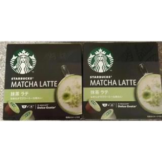 スターバックスコーヒー(Starbucks Coffee)のスターバックス 抹茶ラテ ネスレ ネスカフェ ドルチェグスト 専用カプセル(コーヒー)