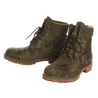 ティンバーランド(Timberland)のティンバーランド Timberland ブーツ グリーン カモフラ 25.5cm(ブーツ)