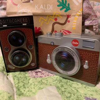 カルディ(KALDI)の専有です。KALDIレフレックスカメラ缶&カメラ缶チョコ(菓子/デザート)