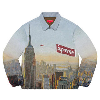 Supreme - シュプリーム Aerial Tapestry Harrington Jacket