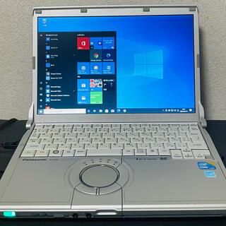 パナソニック(Panasonic)のパナソニック レッツノート core I5  windows10(ノートPC)