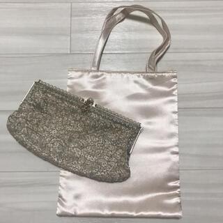 アネモネ(Ane Mone)のアネモネ ビーズ刺繍 パーティーバッグ サブバッグ付き(ハンドバッグ)