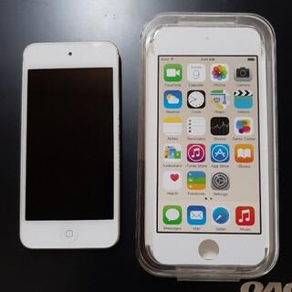アップル(Apple)の美品! ipod touch 第6世代 128GB ゴールド(ポータブルプレーヤー)