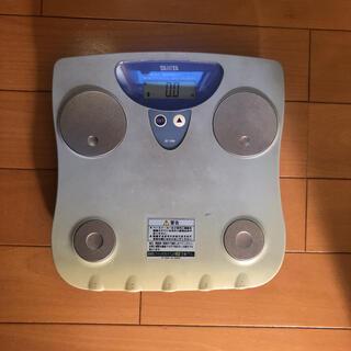 タニタ(TANITA)のタニタ 体脂肪計付き体重計(体重計/体脂肪計)