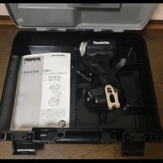 マキタ(Makita)のマキタ インパクトドライバー TD171D ブラック 新品未使用品!(工具)