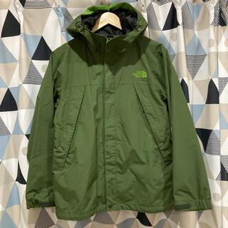 THE NORTH FACE - ノースフェイス マウンテンパーカー スクープジャケットグリーン 緑