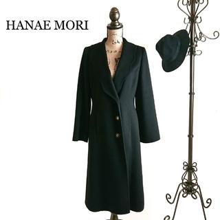 ハナエモリ(HANAE MORI)のHANAE MORI ハナエモリ チェスターコート レディース コート ブラック(チェスターコート)
