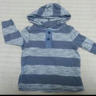 オールドネイビー(Old Navy)のオールドネイビー フード付きロングTシャツ(Tシャツ/カットソー)