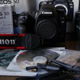 Canon - キヤノン  CANON EOS 5D mark2   元箱付美品