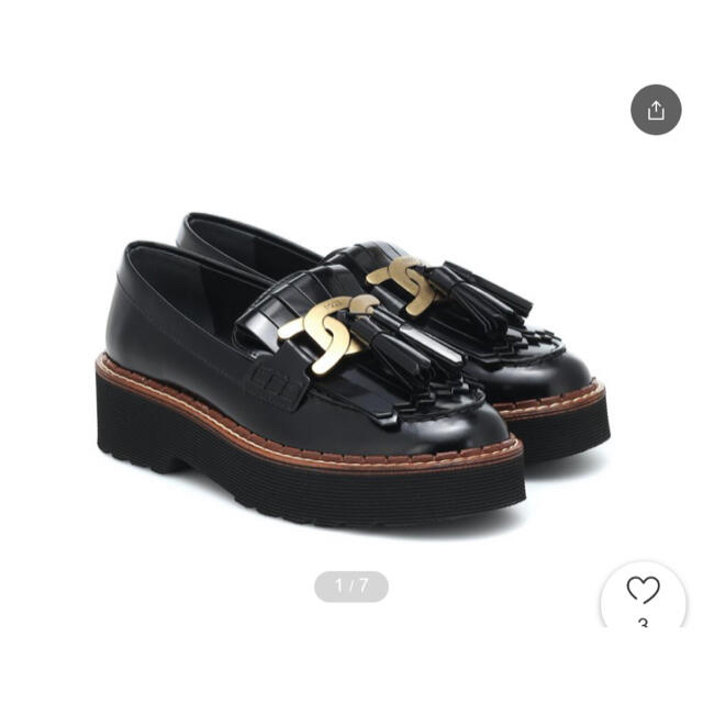 TOD'S(トッズ)のTOD'S トッズ Kate leather loafers  レディースの靴/シューズ(ローファー/革靴)の商品写真