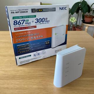 NEC - NEC PA-WF1200CR 無線LANルーター