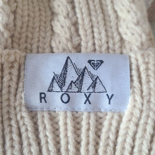 Roxy(ロキシー)のROXYニット帽 レディースの帽子(ニット帽/ビーニー)の商品写真