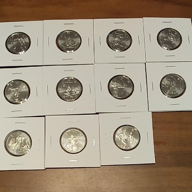 東京2020 オリンピック・パラリンピック記念硬貨 エンタメ/ホビーの美術品/アンティーク(貨幣)の商品写真