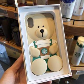 スターバックスコーヒー(Starbucks Coffee)の海外 スターバックス ベアリスタ iPhoneX/XS ケース(iPhoneケース)