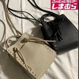 しまむら - 【淡肌】スタッズミニタテ ショルダーバッグ