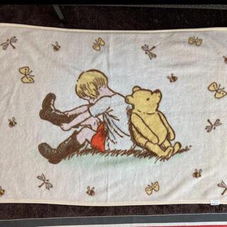 クマノプーサン(くまのプーさん)のクラシックプーさん ブランケット 毛布(毛布)