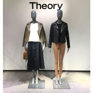 theory - Theoryセオリーストレッチスキニーパンツ24ベージュチノ