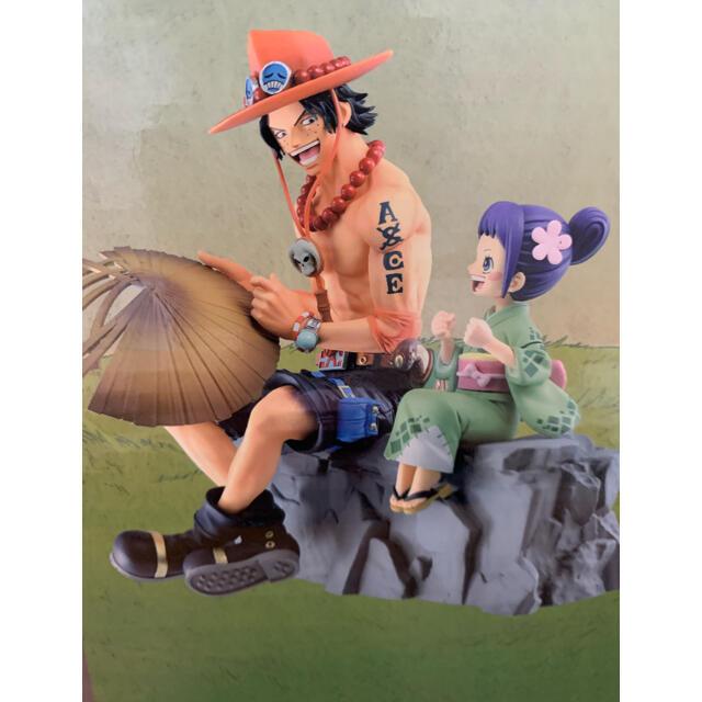 BANDAI(バンダイ)のワンピース 一番くじ ワノ国編 第二幕 エンタメ/ホビーのおもちゃ/ぬいぐるみ(キャラクターグッズ)の商品写真