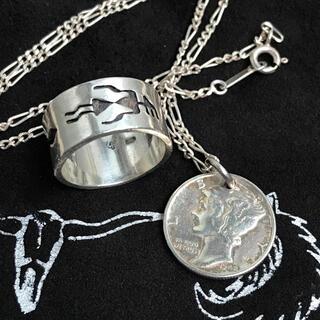 アリゾナフリーダム(ARIZONA FREEDOM)のVintage Hopi Ring / Liberty Mercury Dime(リング(指輪))