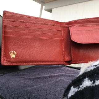 ロレックス(ROLEX)のロレックス二つ折り財布(折り財布)