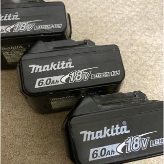 マキタ(Makita)のマキタ バッテリー 18v 6ah 純正品 あおさん(メンテナンス用品)