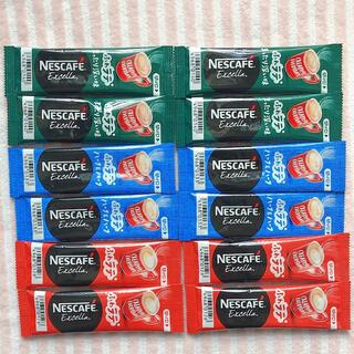 ネスレ(Nestle)のネスカフェ エクセラ スティックコーヒー 12本(コーヒー)
