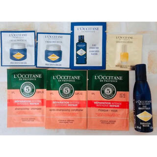 L'OCCITANE - ロクシタン サンプルセット ヘアパック シャンプー コンディショナー