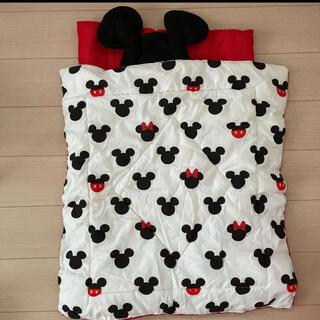 ディズニー(Disney)のミッキーお昼寝布団(ベビー布団)
