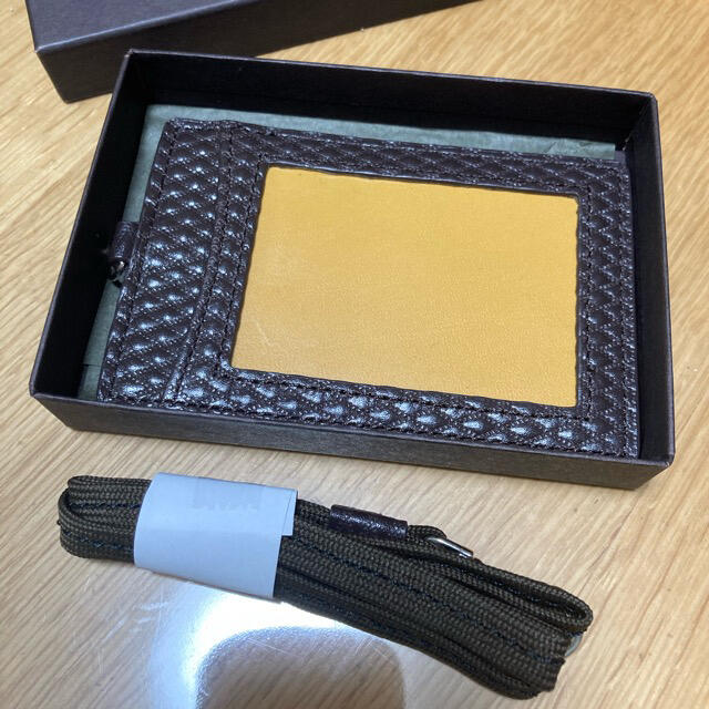 COMME CA MEN(コムサメン)のパスケース レディースのファッション小物(名刺入れ/定期入れ)の商品写真
