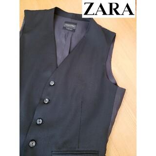 ZARA - 【ZARAザラ】ジレ ベスト ドレス シャツ