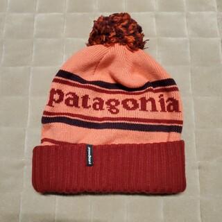 patagonia - ☆パタゴニア ニット帽 ビーニー キッズ☆ ピンク patagonia