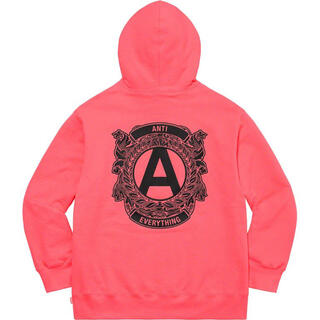 シュプリーム(Supreme)のシュプリーム  ANTI hooded sweatshirt  M 未使用(パーカー)