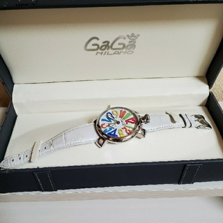ガガミラノ(GaGa MILANO)のGaGa MILANO  アヌマーレ  手巻き式(腕時計(アナログ))
