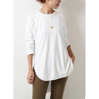 Spick and Span - Spick &Span オーバーロングTシャツ 裾ラウンドテール