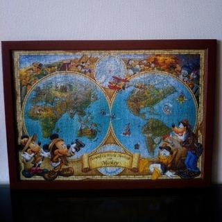 ディズニー(Disney)のディズニー パズル完成品 フレーム セット(その他)