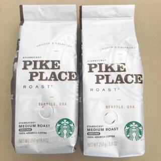 スターバックスコーヒー(Starbucks Coffee)のスターバックス レギュラーコーヒー250g×2 スタバ 福袋 Starbucks(コーヒー)
