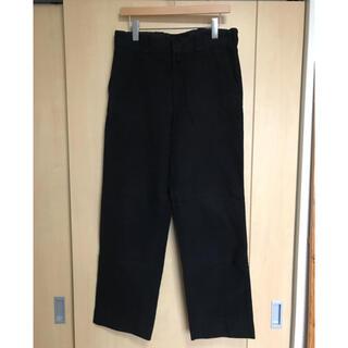 コモリ(COMOLI)のcomoli 20aw モールスキンパンツ BLACK サイズ2(スラックス)