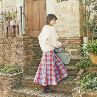 スタディオクリップ(STUDIO CLIP)の《NEXTWEEKENDコラボ》物語のスカート(ロングスカート)