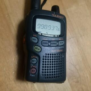 YAESU 八重洲  ハンディ アマチュア無線機  受信改造済み VXー1(アマチュア無線)