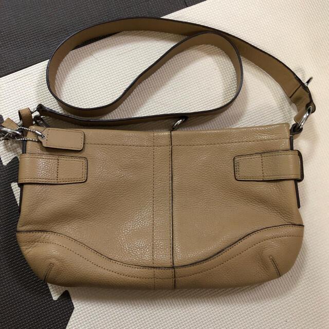 COACH(コーチ)の美品 COACH コーチ ショルダーバッグ レディースのバッグ(ショルダーバッグ)の商品写真