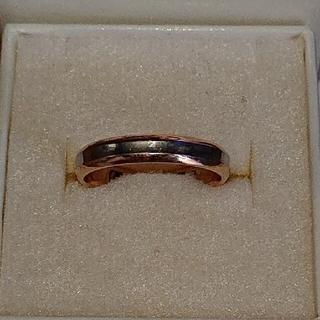 けん様専用k18プラチナコンビリング、k18銀コンビリング(リング(指輪))