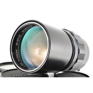 コニカミノルタ(KONICA MINOLTA)のミノルタ MINOLTA MC ROKKOR-QF 200mm f3.5(レンズ(単焦点))