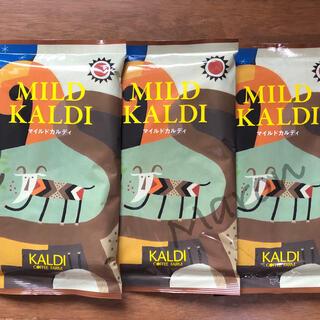 カルディ(KALDI)の【カルディ】マイルドカルディ 3袋 KALDI コーヒー粉 中挽(コーヒー)