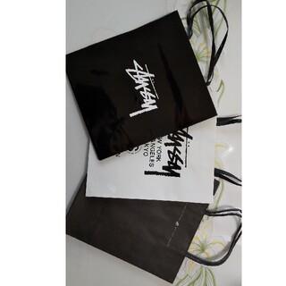 ステューシー(STUSSY)のSTUSSY ショッピング紙袋 3枚(ショップ袋)