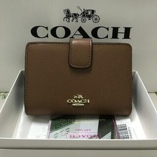 COACH - 人気 新品 (COACH )二つ折り 財布