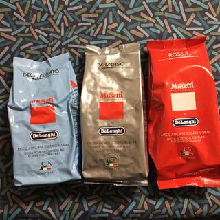 デロンギ(DeLonghi)の▷専用▷お値下げ▷ムセッティ コーヒー豆 3袋セット(コーヒー)