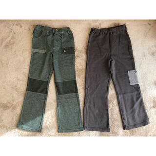 ビケット(Biquette)のビケット⭐️タグ付き新品 パンツ2枚 キムラタン 120cm(パンツ/スパッツ)