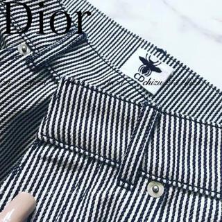 Christian Dior - Christian Dior ヒッコリーワイドパンツ ディオールパンツ