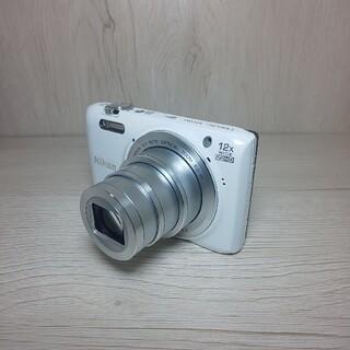 Nikon - Nikon COOLPIX S6800 WHITE
